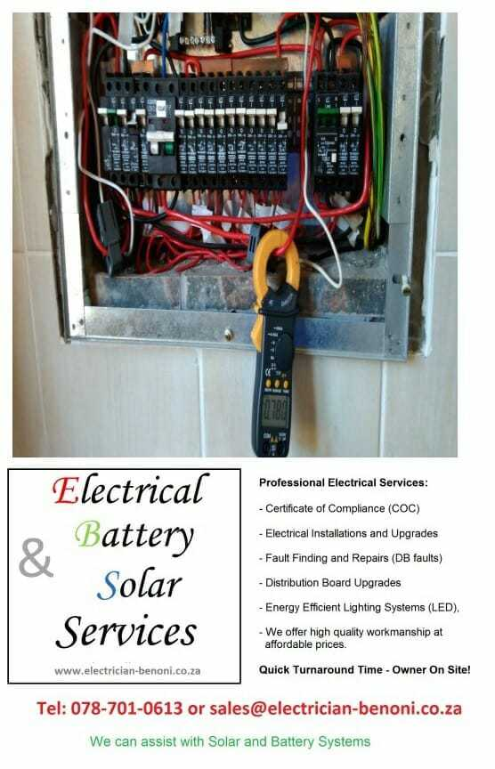 Benoni Electrical Services